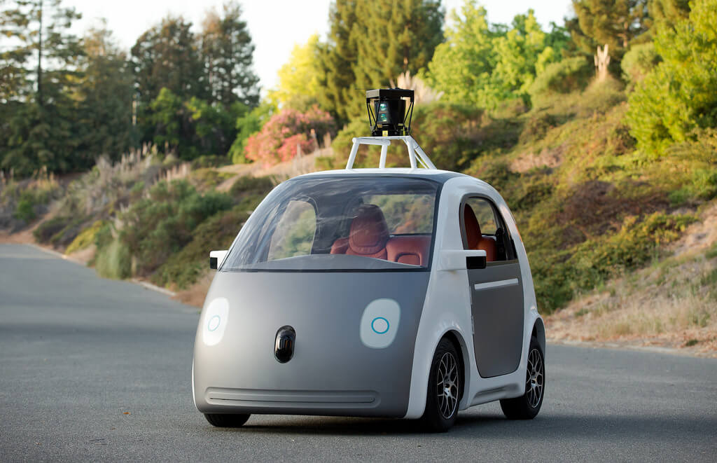 Auto-industrie Google auto car
