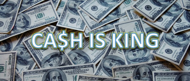 Cash is king beleggen