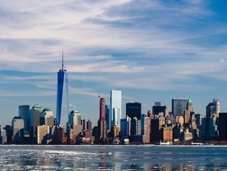 Beleggen in vastgoed skyline New York groundzero